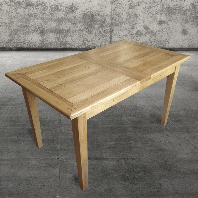 eichen massiv tisch zum ausziehen. Black Bedroom Furniture Sets. Home Design Ideas