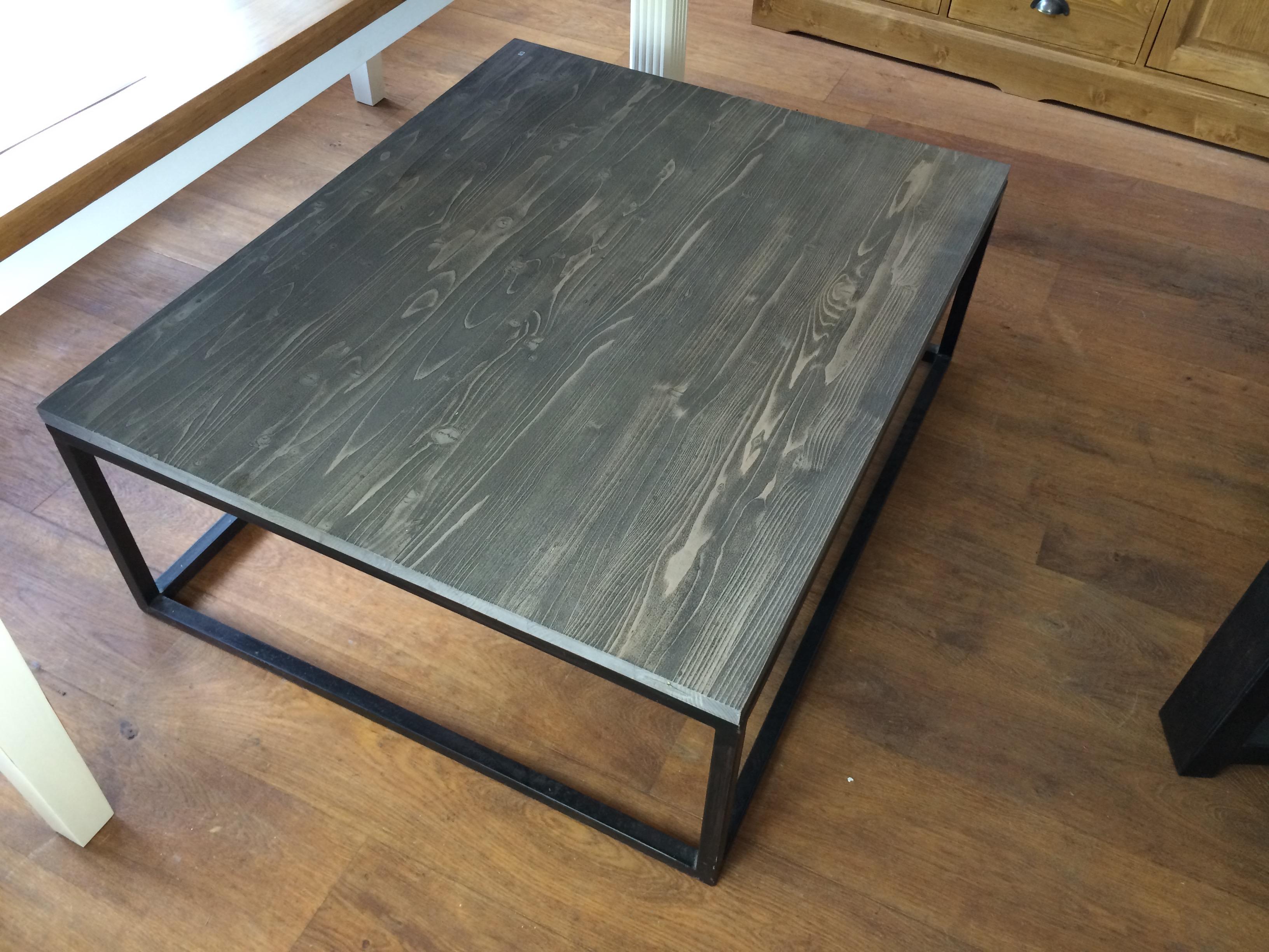 industrie tisch. Black Bedroom Furniture Sets. Home Design Ideas